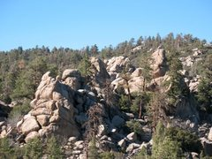Rock Climbing Photo: Looking north from the top of the Incinterator Wal...