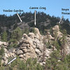 Pinnacles North overview, Holcomb Valley Pinnacles<br>