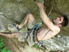 Rock Climbing Photo: You're almost there dude stay strong!  Emile neari...