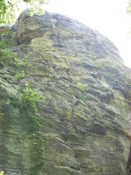 "Rock Climbing Photo: ""Schizophrenia"" and ""Unknown"""