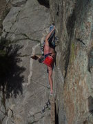 Rock Climbing Photo: Regular Route, A.K.A. Mark of Zorro Boulder Canyon