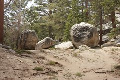 Rock Climbing Photo: Ranger Station Rocks 2 & 3