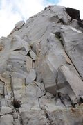 Rock Climbing Photo: A look at the 2nd pitch of 'Crack Kingdom', just l...