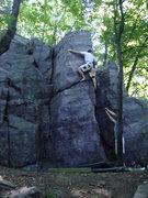 Rock Climbing Photo: Aaron, The Gentleman.