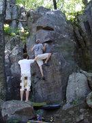 Rock Climbing Photo: Thune