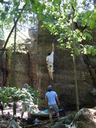 Rock Climbing Photo: The Gentleman going big.