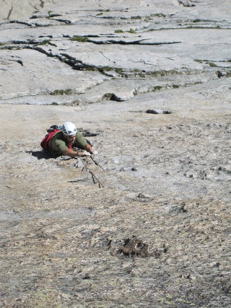 Rock Climbing Photo: Jeff on ATO.