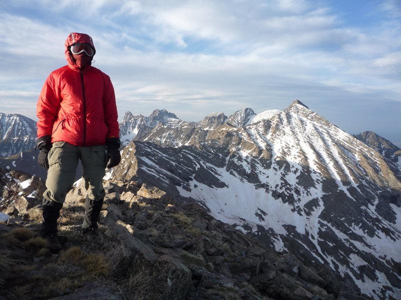 Summit of Fluted Peak