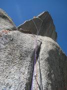 Rock Climbing Photo: James Garrett on pitch 7.