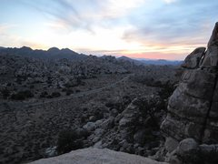 Rock Climbing Photo: JT Sunset