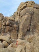 Rock Climbing Photo: Wataneasy Route