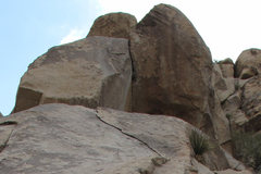 Rock Climbing Photo: Pat Adams Dihedral