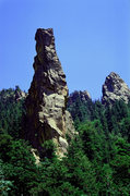 Rock Climbing Photo: The Chimney in all its glory on a summer day, seen...