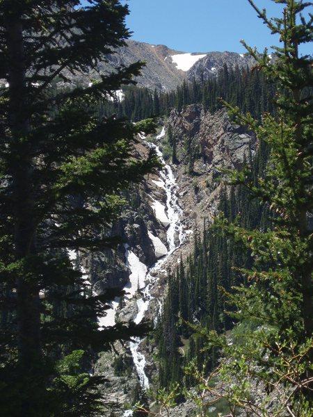 Rock Climbing Photo: water fall...