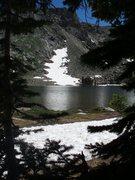 Rock Climbing Photo: Diamond Lake