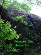 Rock Climbing Photo: Peewee's BIG ADVENTURE not peewee's play house... ...