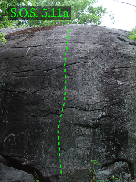 Rock Climbing Photo: Steep ol Slab
