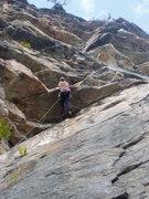 Rock Climbing Photo: Rich Gottlieb escaping the Bird Cage
