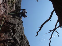 Rock Climbing Photo: Pitch 4 (don't skip) It is very easy to walk off a...