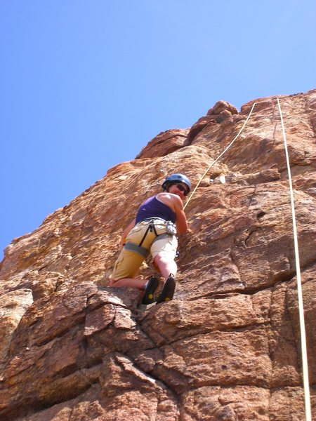 Rock Climbing Photo: Watson Lake