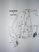 Rock Climbing Photo: Sandinista on Acid Rock.
