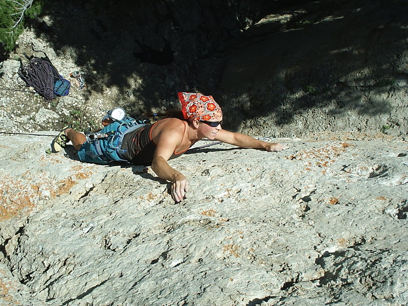 Rock Climbing Photo: tics for chics