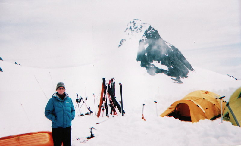 Rock Climbing Photo: base camp I