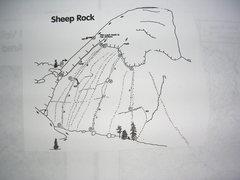 Rock Climbing Photo: Velcro Wall sector of Sheep Rock