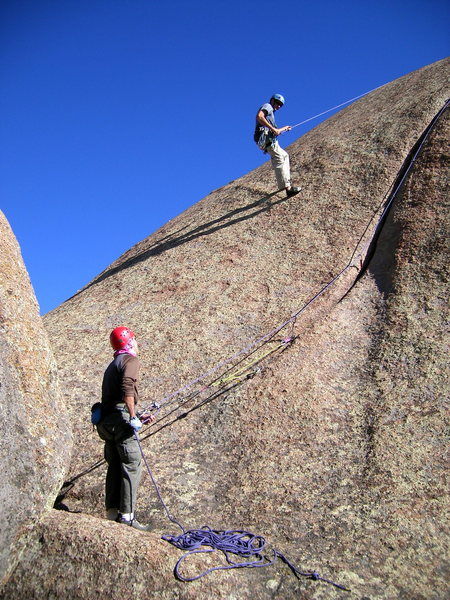 Rock Climbing Photo: Kim 5.6