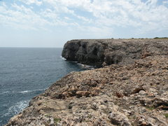 Rock Climbing Photo: Looking right down the coast from above the Virgin...