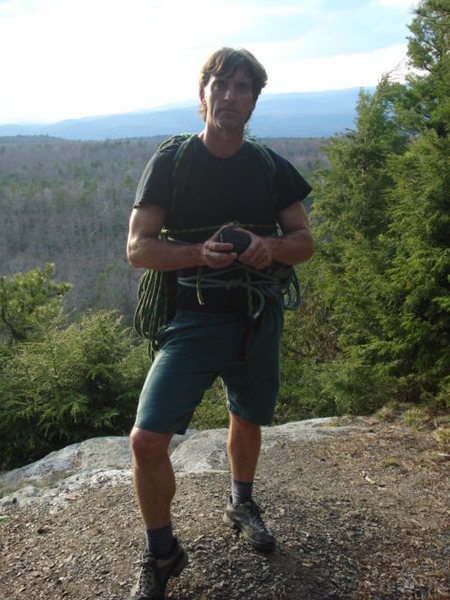 minnewaska state park....lost, looking for Millbrook - Shawangunks, spring, 2008