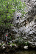 Rock Climbing Photo: South of the Trout Farm, at Wheeler Gorge
