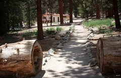 Rock Climbing Photo: Trail to the ranger station