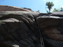 Rock Climbing Photo: Lady Slipper start....
