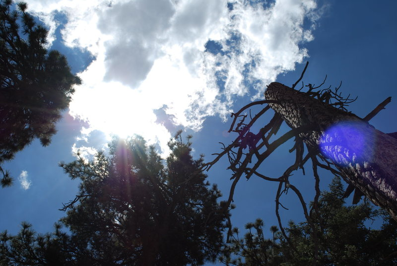Sky above Castle Rock