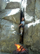 Rock Climbing Photo: Farnham, By Gully  mythbusters -- if you light a f...