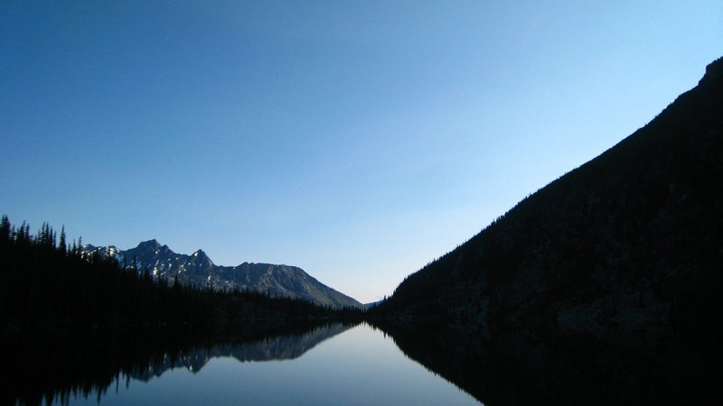 Colchuck Lake reflections