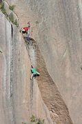 Rock Climbing Photo: Kevin Stricker and David Russell.  First pitch &qu...