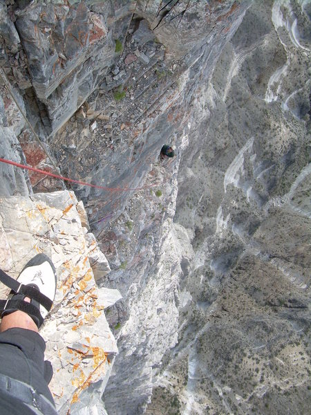 Rock Climbing Photo: The final belay!