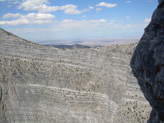 """Rock Climbing Photo: Looking across the """"notch."""" During our a..."""