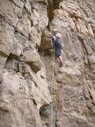 Rock Climbing Photo: Pitch 6.