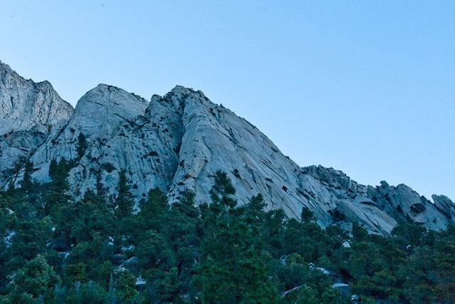 Rock Climbing Photo: El Segundo Buttress in the back.