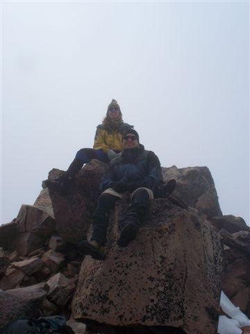 Rock Climbing Photo: @10,130'