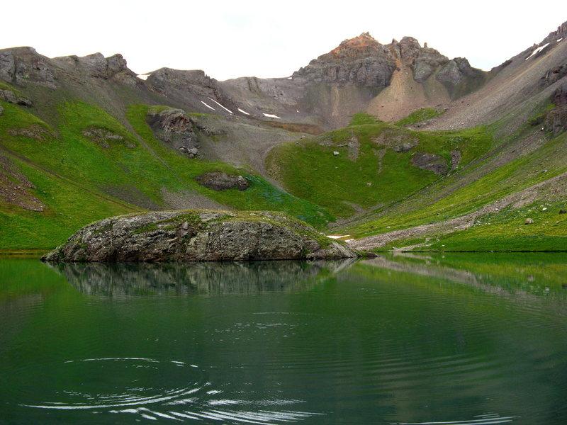 Rock Climbing Photo: Island Lake.