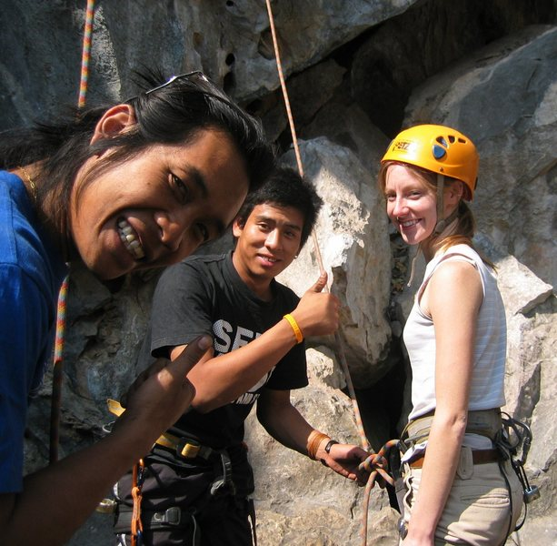 Rock Climbing Photo: where it all began...Northern Thailand 2007