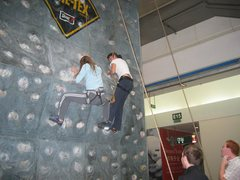 Rock Climbing Photo: three legged climb...just for fun...only for the b...
