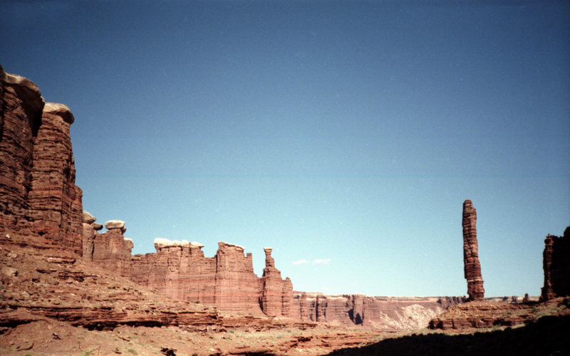 Rock Climbing Photo: Standing Rock from the approach