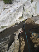 Rock Climbing Photo: Outstanding second pitch, just like all the rest.