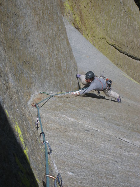 Rock Climbing Photo: Fourth pitch, beautiful.