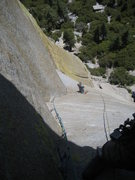 Rock Climbing Photo: The best exposure is here and the traverse 5th pit...